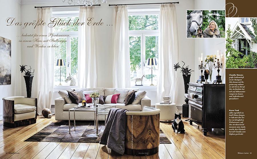 wohnen und garten aktuelle ausgabe aktuelle ausgabe der zeitschrift wohnen und garten februar. Black Bedroom Furniture Sets. Home Design Ideas